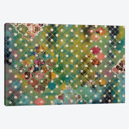 Life Is Beautiful Canvas Print #NLT16} by Martina Niederhauser-Landtwing Canvas Wall Art