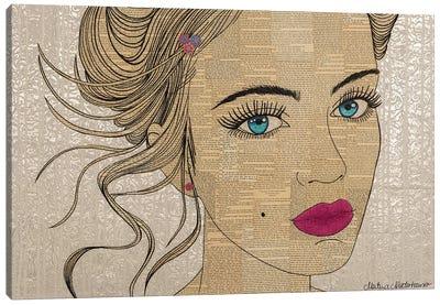 Blooming Eyes Canvas Art Print