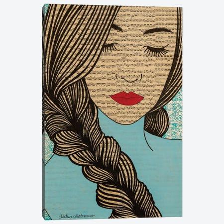 Empower Canvas Print #NLT27} by Martina Niederhauser-Landtwing Canvas Print