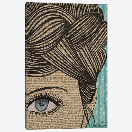 Eye See You Canvas Print #NLT33} by Martina Niederhauser-Landtwing Art Print