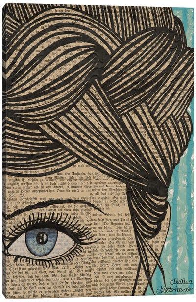 Eye See You Canvas Art Print
