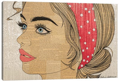 Senorita Canvas Art Print