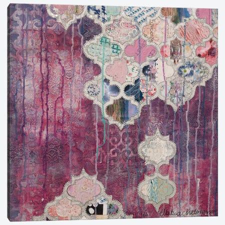 Raspberry Canvas Print #NLT3} by Martina Niederhauser-Landtwing Art Print