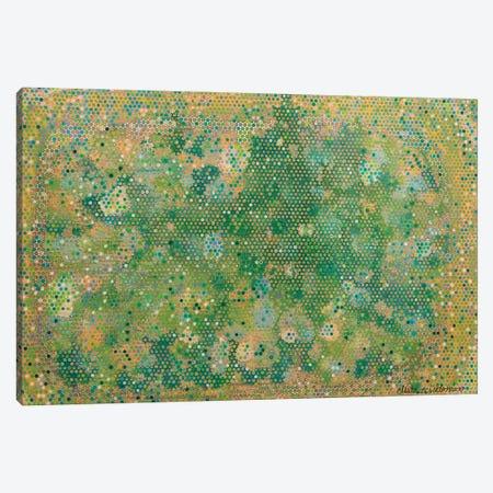 Garden Eden Canvas Print #NLT6} by Martina Niederhauser-Landtwing Canvas Artwork