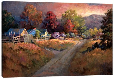 Rural Vista I Canvas Art Print