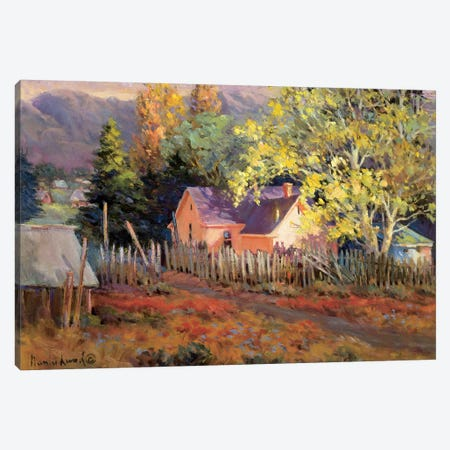 Rural Vista II Canvas Print #NLU2} by Nancy Lund Canvas Art