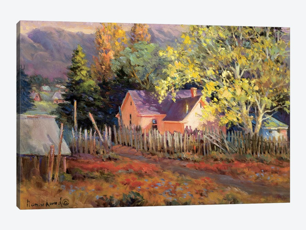 Rural Vista II by Nancy Lund 1-piece Art Print