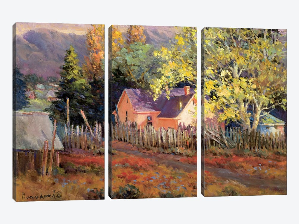 Rural Vista II by Nancy Lund 3-piece Art Print
