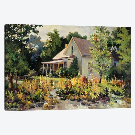 Rural Vista III Canvas Print #NLU3} by Nancy Lund Canvas Wall Art