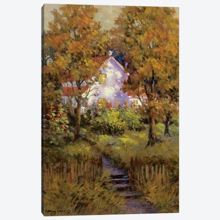 Rural Vista IV Canvas Print #NLU4} by Nancy Lund Canvas Art Print