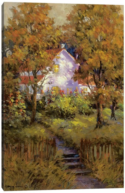Rural Vista IV Canvas Art Print