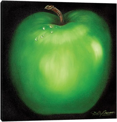Green Apple Canvas Art Print