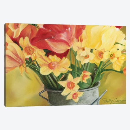 Primavera I Canvas Print #NLY3} by Nelly Arenas Canvas Art