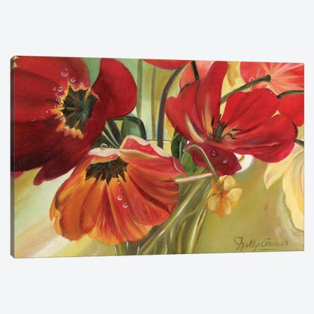 Primavera II Canvas Print #NLY4} by Nelly Arenas Canvas Art Print