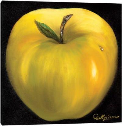 Yellow Apple Canvas Art Print