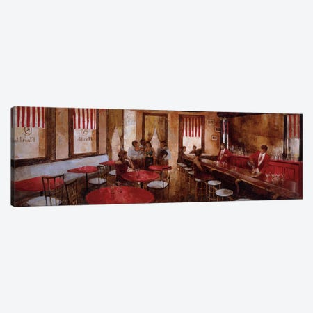 El Floridita Canvas Print #NMA3} by Noemi Martin Canvas Art