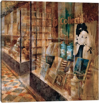 Collectibles Canvas Art Print