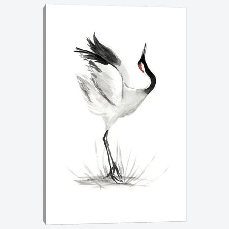 Japanese Cranes I Canvas Print #NMC112} by Naomi McCavitt Canvas Art