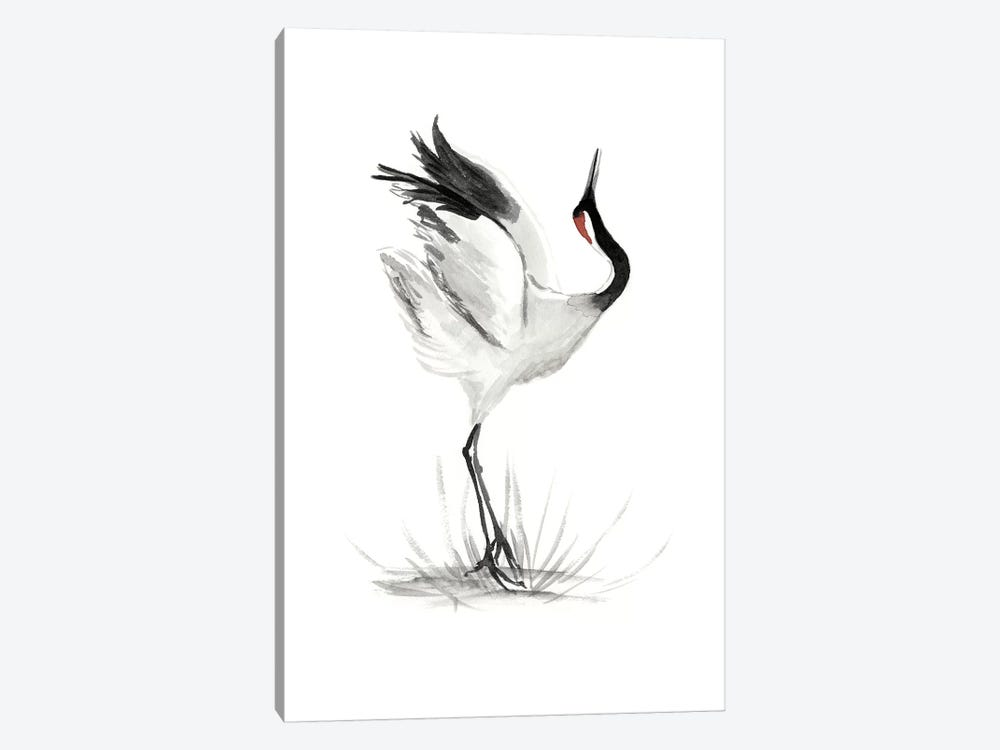 Japanese Cranes I 1-piece Canvas Wall Art