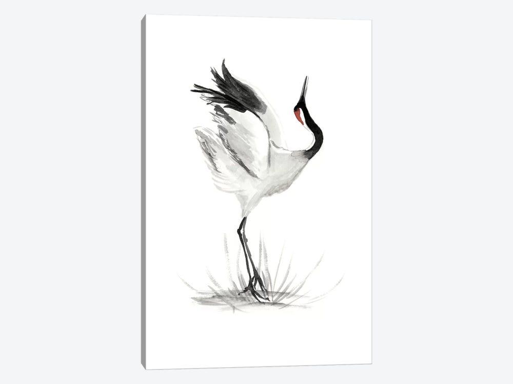 Japanese Cranes I by Naomi McCavitt 1-piece Canvas Wall Art