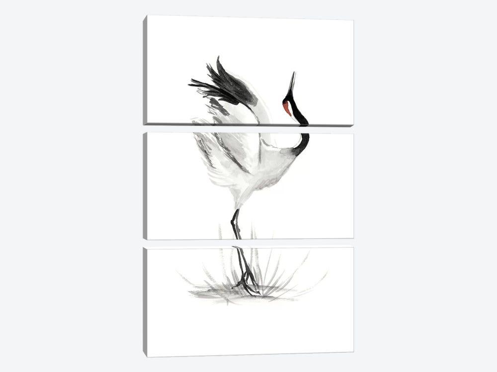Japanese Cranes I by Naomi McCavitt 3-piece Canvas Artwork