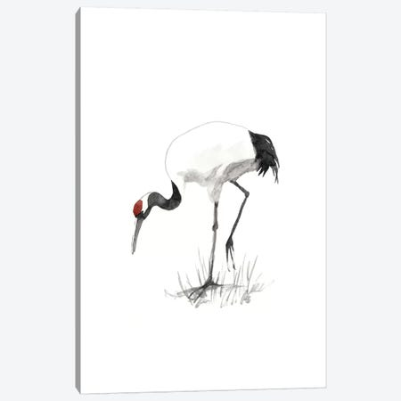 Japanese Cranes II Canvas Print #NMC113} by Naomi McCavitt Canvas Wall Art
