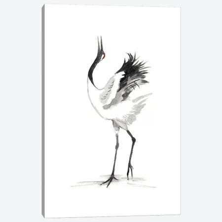 Japanese Cranes IV Canvas Print #NMC115} by Naomi McCavitt Canvas Print