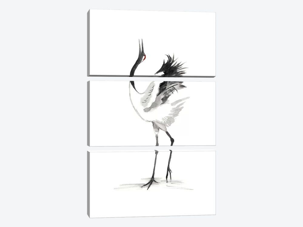 Japanese Cranes IV by Naomi McCavitt 3-piece Art Print