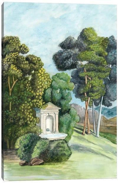 Scenic French Wallpaper I Canvas Print #NMC120