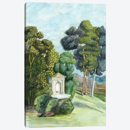 Scenic French Wallpaper I Canvas Print #NMC120} by Naomi McCavitt Canvas Art Print