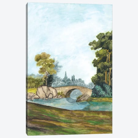 Scenic French Wallpaper III Canvas Print #NMC122} by Naomi McCavitt Art Print