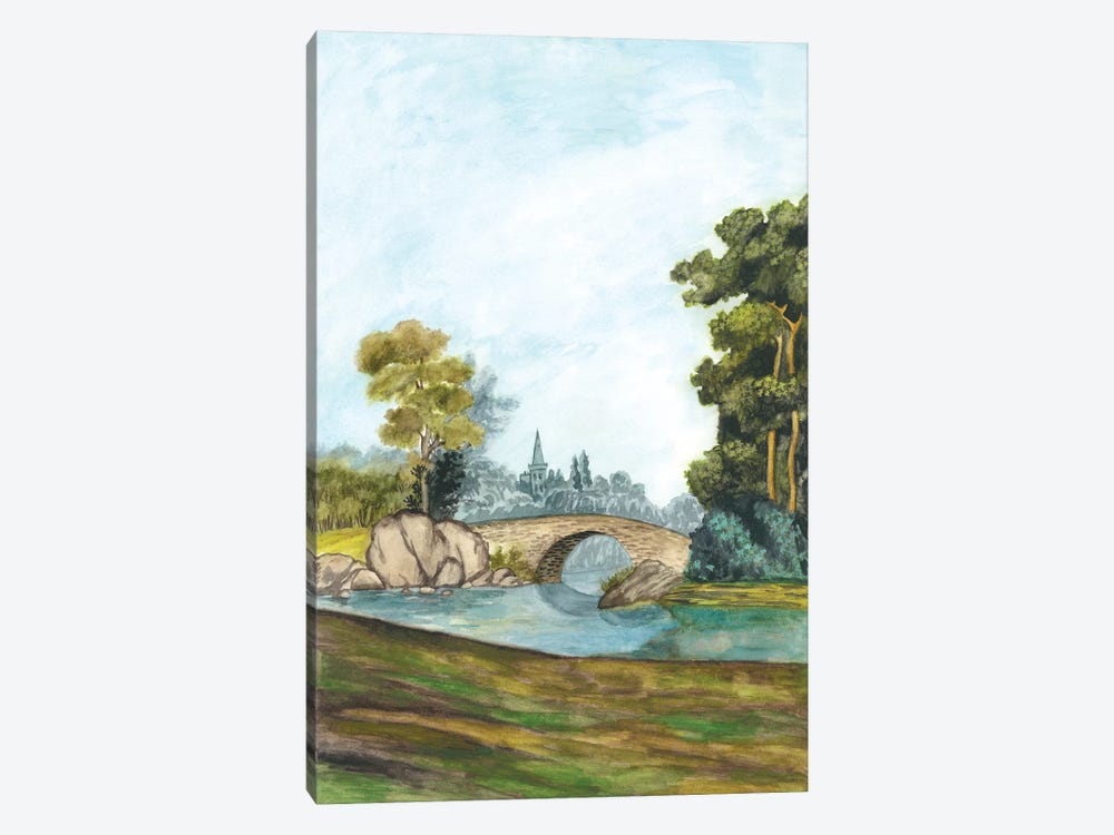 Scenic French Wallpaper III 1-piece Art Print