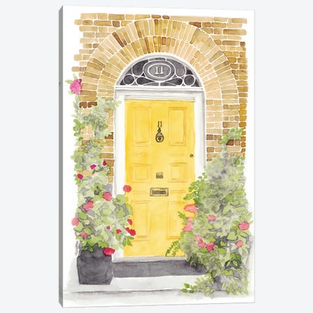 Warm Welcome V Canvas Print #NMC151} by Naomi McCavitt Canvas Wall Art