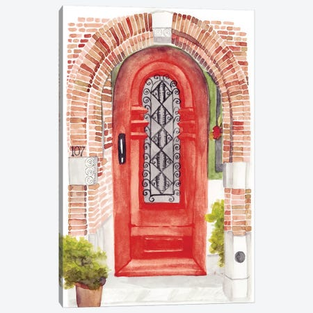 Warm Welcome VI Canvas Print #NMC152} by Naomi McCavitt Canvas Art