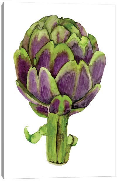 Watercolor Veggie I Canvas Art Print