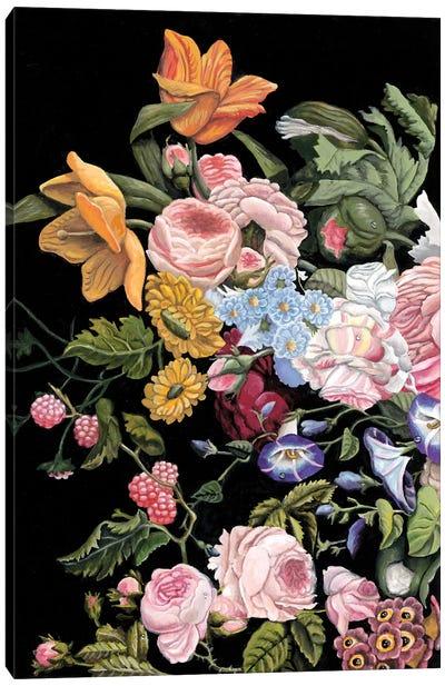 Baroque Diptych I Canvas Art Print