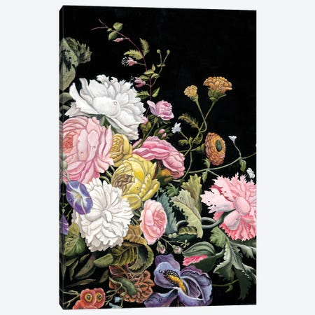 Baroque Diptych II 3-Piece Canvas #NMC160} by Naomi McCavitt Art Print