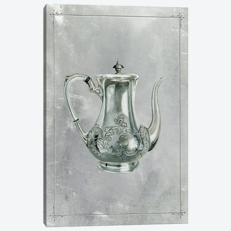 English Silver I Canvas Print #NMC161} by Naomi McCavitt Canvas Art Print
