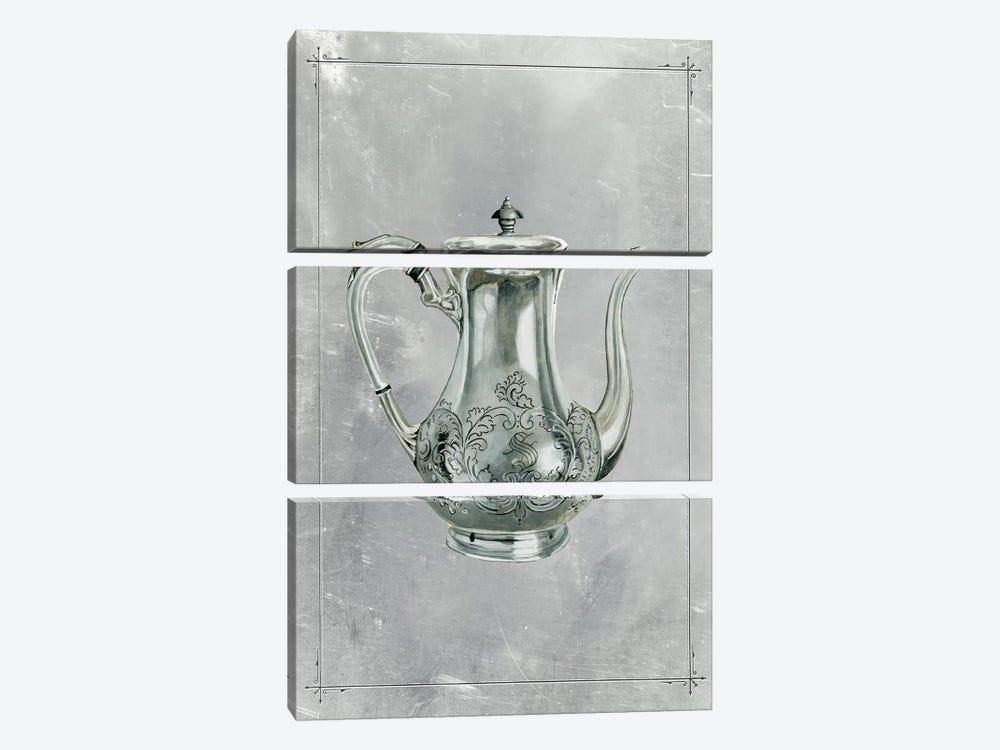 English Silver I by Naomi McCavitt 3-piece Canvas Art