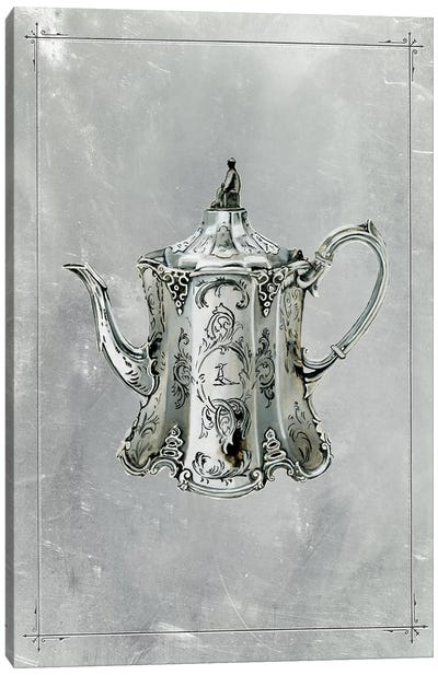 English Silver II Canvas Art Print
