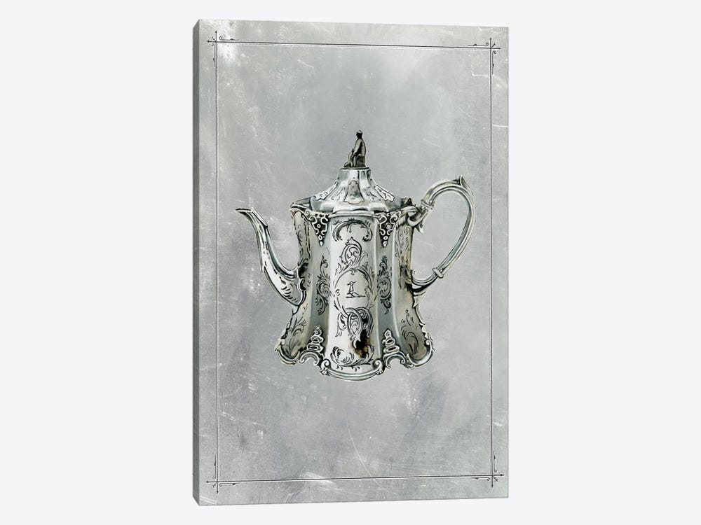 English Silver II by Naomi McCavitt 1-piece Canvas Print