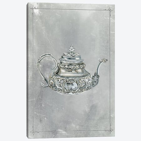 English Silver III Canvas Print #NMC163} by Naomi McCavitt Art Print