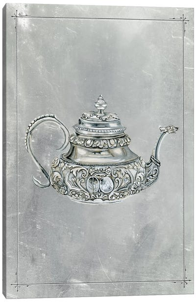 English Silver III Canvas Art Print
