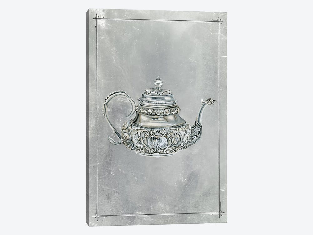 English Silver III by Naomi McCavitt 1-piece Canvas Artwork