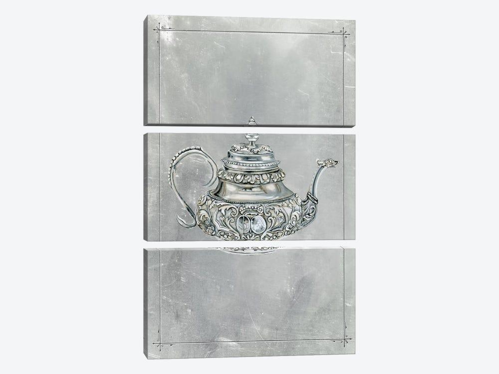 English Silver III by Naomi McCavitt 3-piece Canvas Art