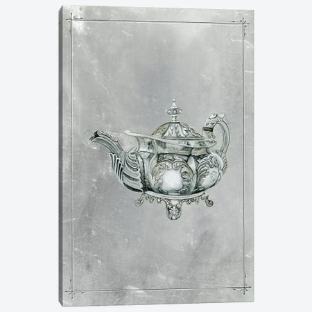 English Silver IV Canvas Print #NMC164} by Naomi McCavitt Canvas Artwork