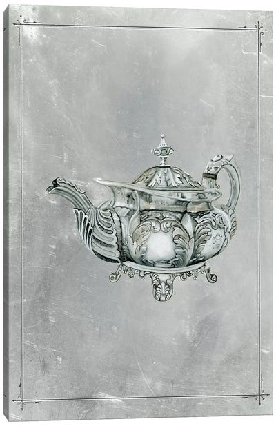 English Silver IV Canvas Art Print