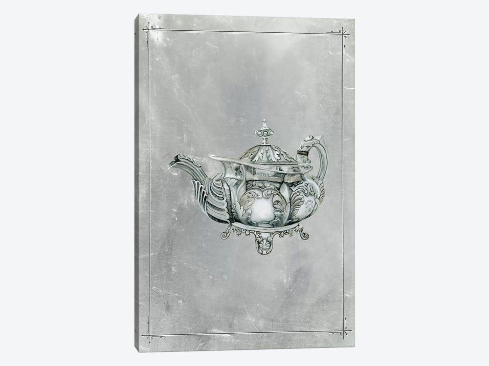 English Silver IV by Naomi McCavitt 1-piece Canvas Print