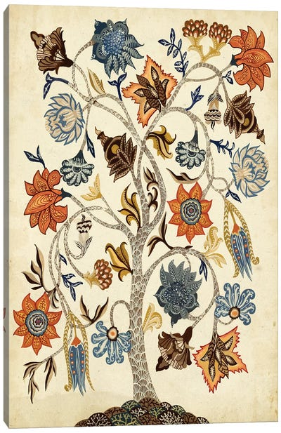 Vintage Tree Of Life Canvas Art Print