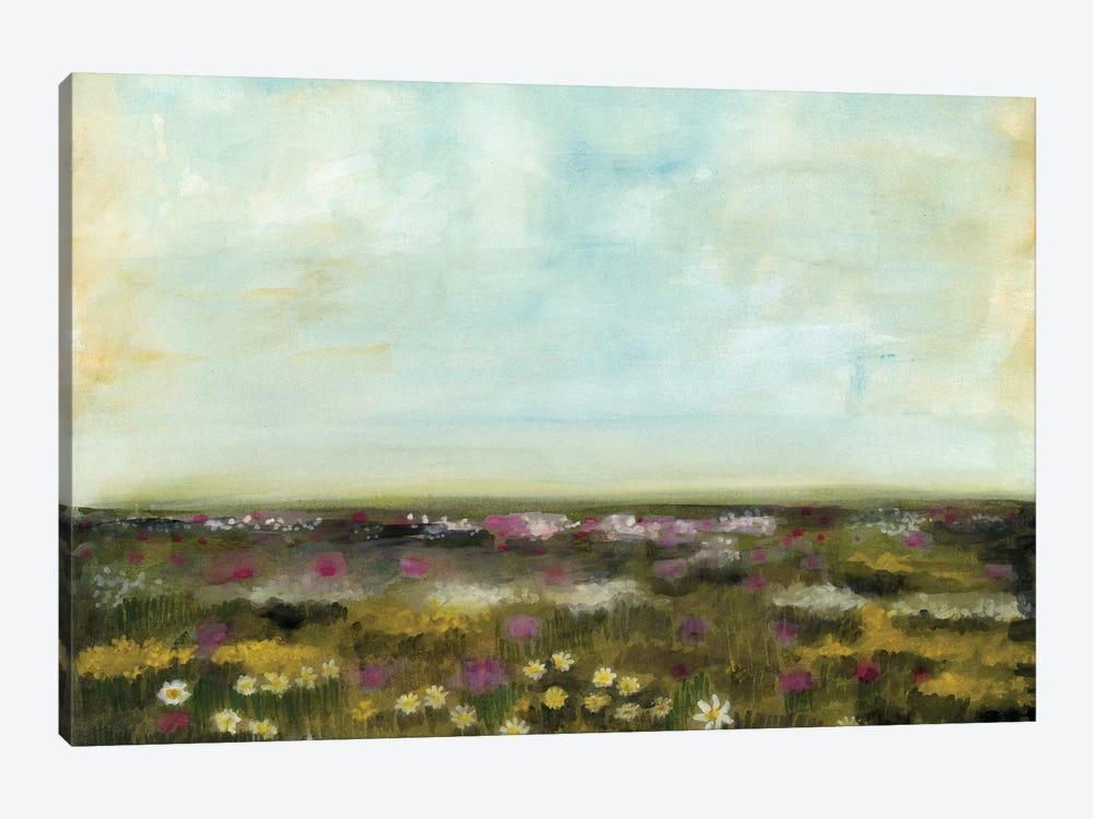 Floral Fields I by Naomi McCavitt 1-piece Canvas Artwork